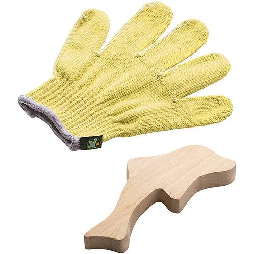 ensemble gant de sculpture sur bois Terra kids Haba
