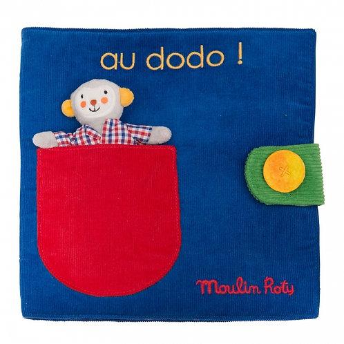 Livre tissu Majournée Les Popipup Moulin Roty