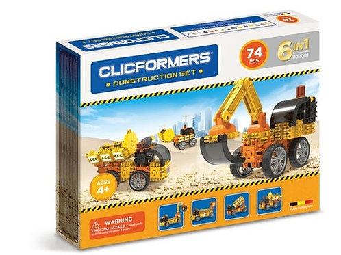 Clicformers construction set 74 pièces