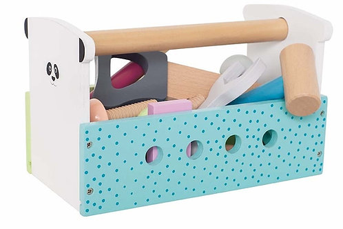 Boîte à outils multicolores Jabadabada
