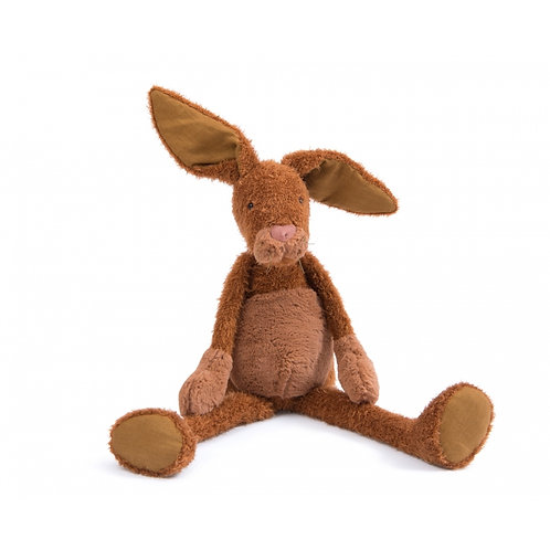 Peluche grand lapin Les Baba-Bou Moulin Roty