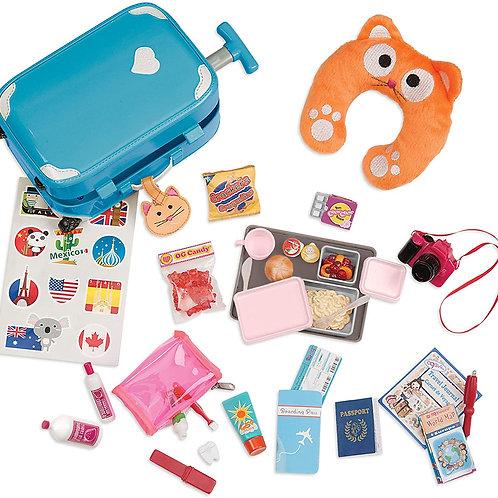 Accessoires valise poupée Our génération