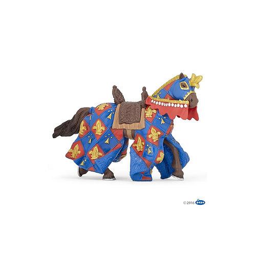 Figurine cheval fleur de lys Papo
