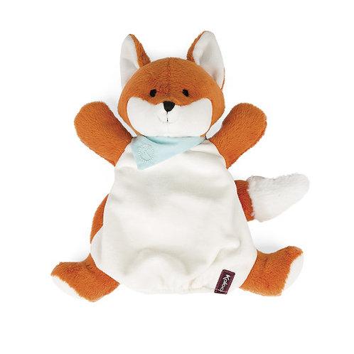 Paprika renard doudou marionnette 30 cm Kaloo