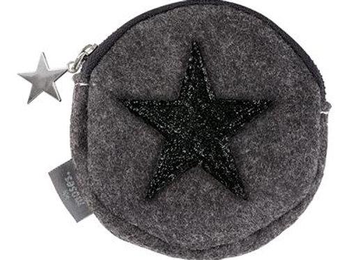 Porte monnaie étoile noire Moses
