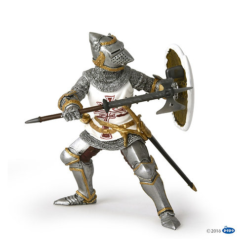 Figurine Chevalier Teutonique Papo