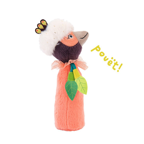 Hochet pouët Paloma Dans la jungle Moulin Roty