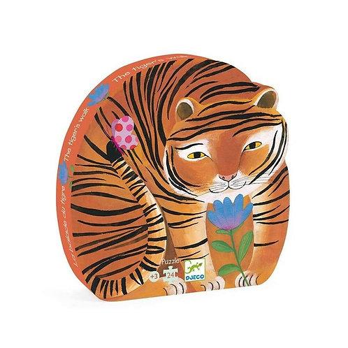 Puzzle la balade du tigre Djeco