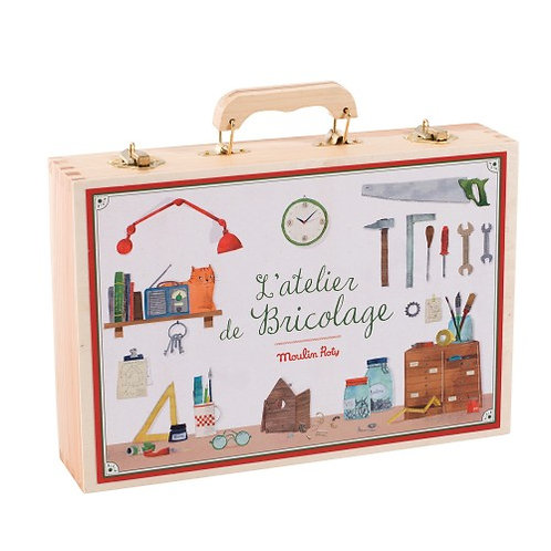 Grande valise bricolage Moulin Roty