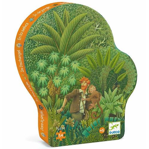 Dans la jungle, puzzle 54 pièces Djeco
