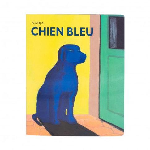 Livre chien bleu géant de Nadja