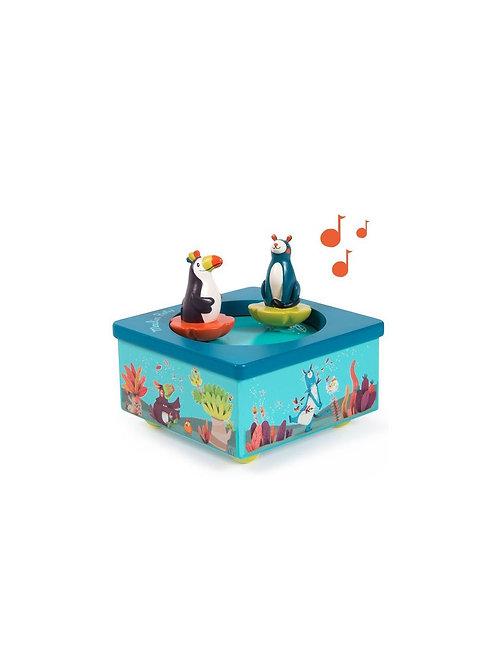Boîte à musique Dans la jungle Moulin Roty