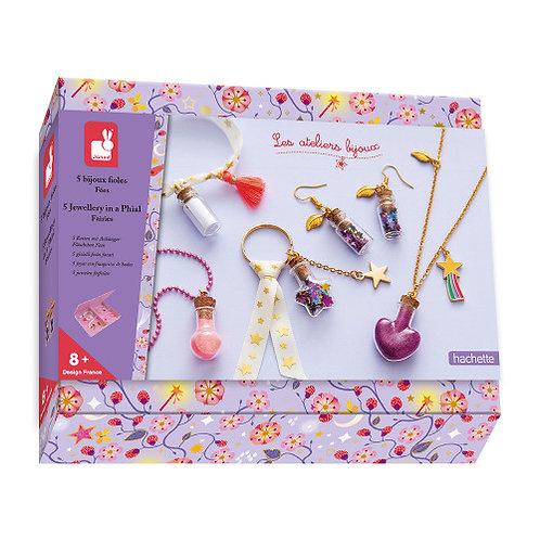 Kit créatif bijoux fioles de fées Janod