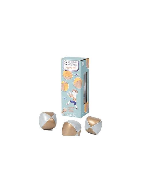 Balles de jonglage Moulin Roty