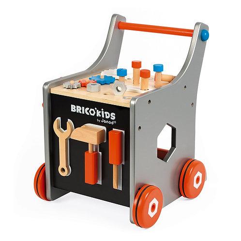 Chariot magnétique Brico'kids ( bois)