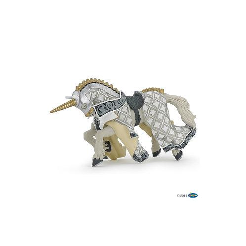 Figurine cheval du Maître des armes Papo