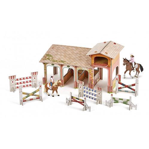 Coffret équitation poney club Papo