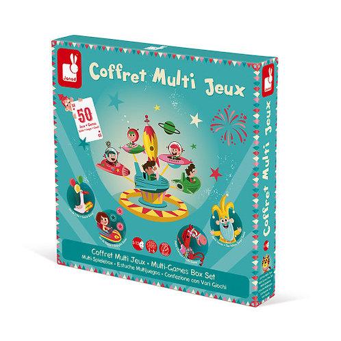 Coffret multi jeux carrousel  Janod