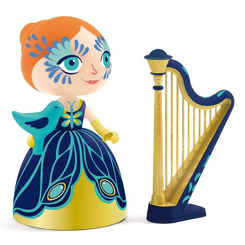 Elisa and ze harpe Artyr toys Djeco