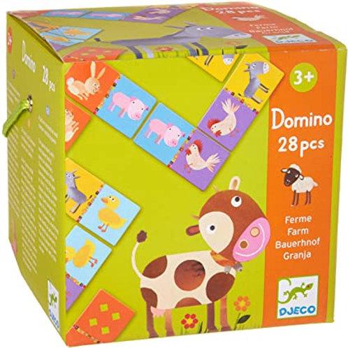 Domino Ferme Djeco