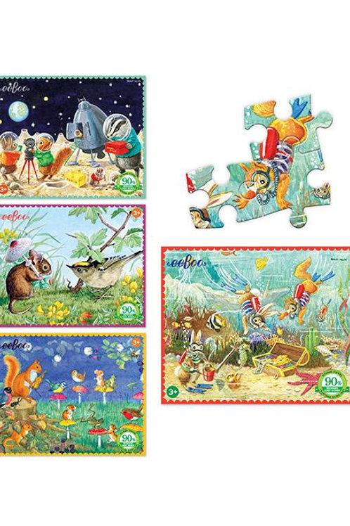 Mini puzzle Eeboo