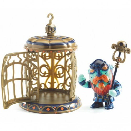 Gnomus and ze cage Arty toys Djeco