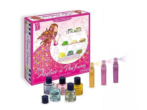 Mon atelier de parfums fleurs romantiques