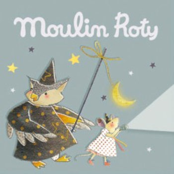 Recharge 3 histoires Il était une fois (gris) Moulin Roty