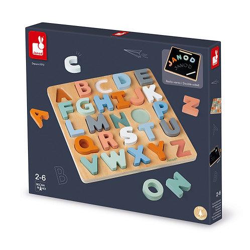 Puzzle alphabet sweet cocoon Janod