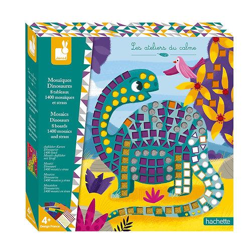 Kit créatif mosaïques dinosaures