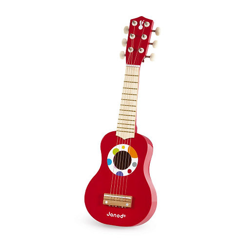 Ma première guitare confetti (bois) Janod