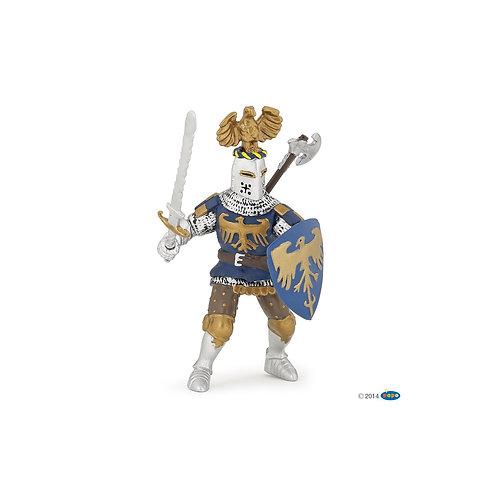 figurine Chevalier bleu au cimier