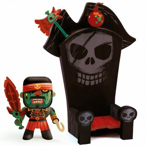 Kyle and ze throne Arty toys Djeco