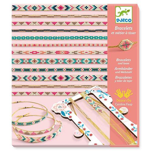 Bracelets et métier à tisser Djeco