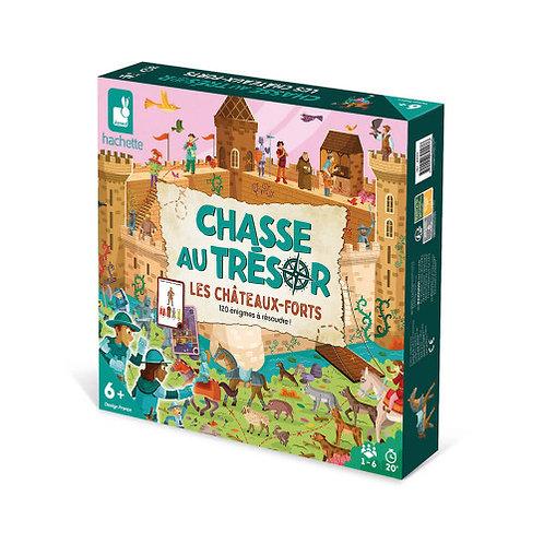 Jeu chasse au trésor les Châteaux forts