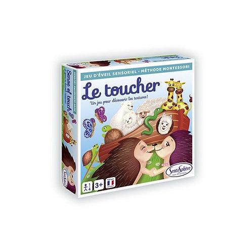 Le toucher, jeu d'éveil Sentosphère