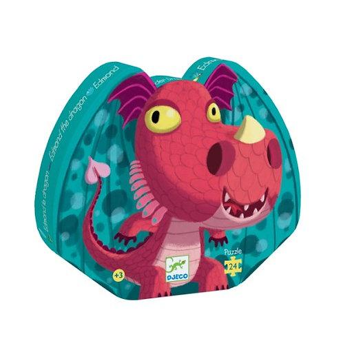 Puzzle Edmond le Dragon 24 pcs Djeco