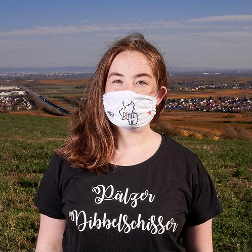 Gesichtsmaske Palz weiß