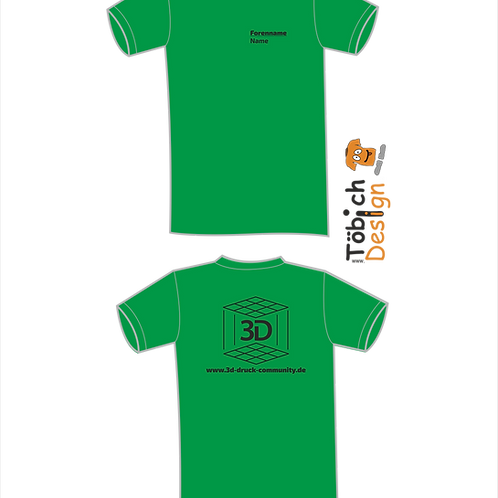 3 D T-Shirt