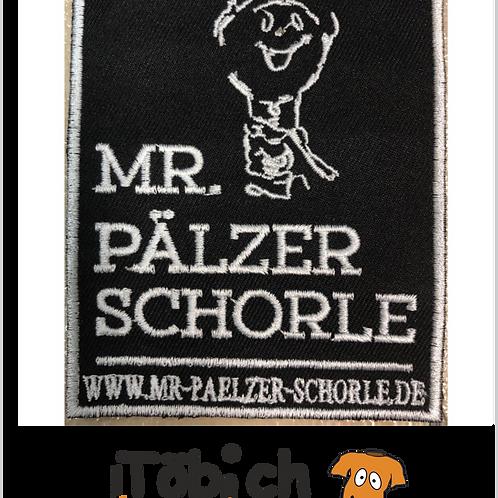 Aufnäher Mr. Pälzer Schorle 23x28 cm