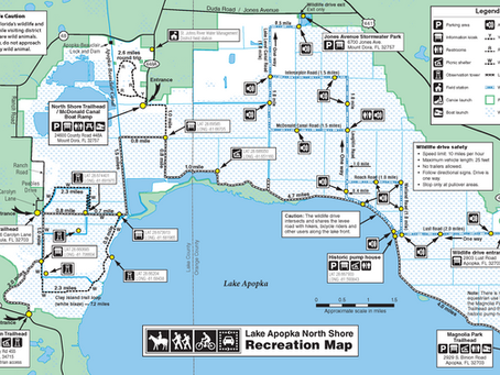 Restoration Work at LANS - Trail Detour Map Update