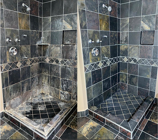 Shower cleaning renovation