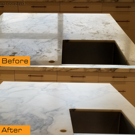 Countertop Etching Marks