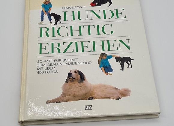 """Buch """" Hunde richtig erziehen"""""""