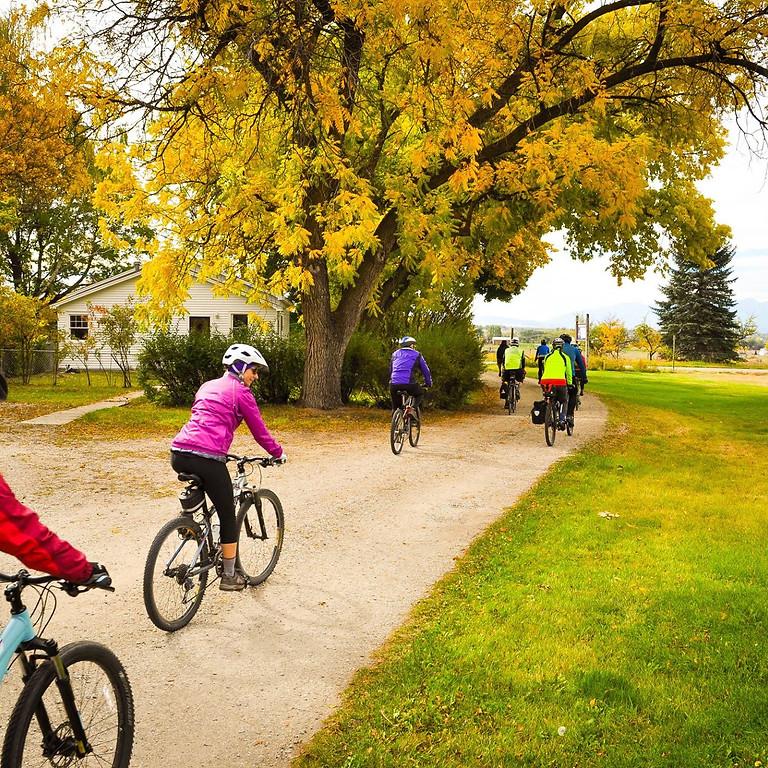 Bike Walk Bitterroot's Fork to Farm