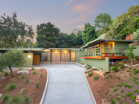 HOME OF THE WEEK: Pasadena Mid-Century Modern