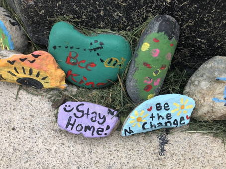 Make Walks Around the Neighorhood More Fun with Rocks!