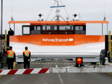 New foot ferry makes the trip to downtown Seattle in 26 minutes