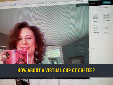 How about a Virtual Cup of Coffee (or wine)?