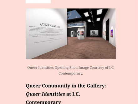 Queer Community in the Gallery - Exhibition Review by Rebecca Casalino